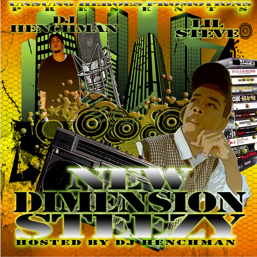 Lil Steve - New Dimension Steezy